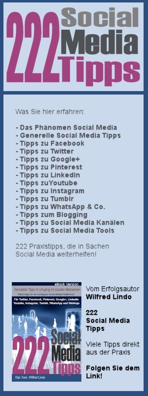 222 Social Media Tipps