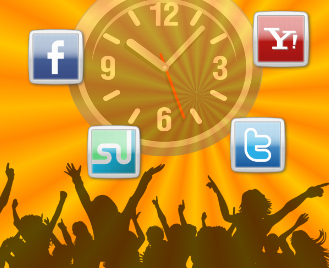 Verweildauer soziale Netze
